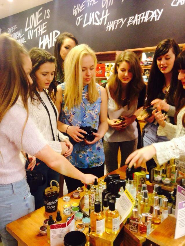 Littleelliemae lush plymouths easter and mothers day event firstly we were told about simon and mark the head perfumers at lush who collaboratively worked on their first perfume dear john to create a smell of negle Image collections