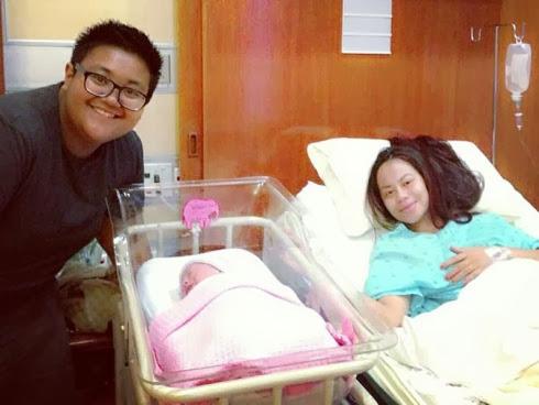 Rabecca Nur Al Islam telah selamat melahirkan anak keduanya