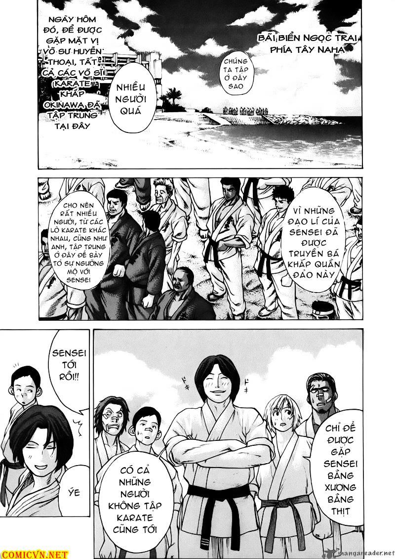 Karate Shoukoushi Kohinata Minoru chap 44 Trang 17