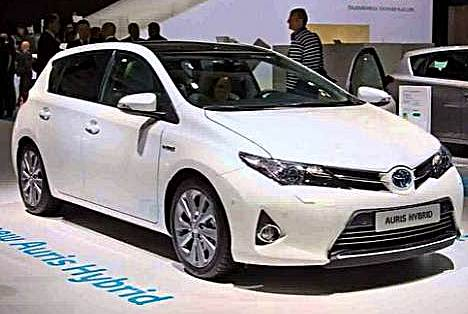 2016 Toyota Auris Hybrid