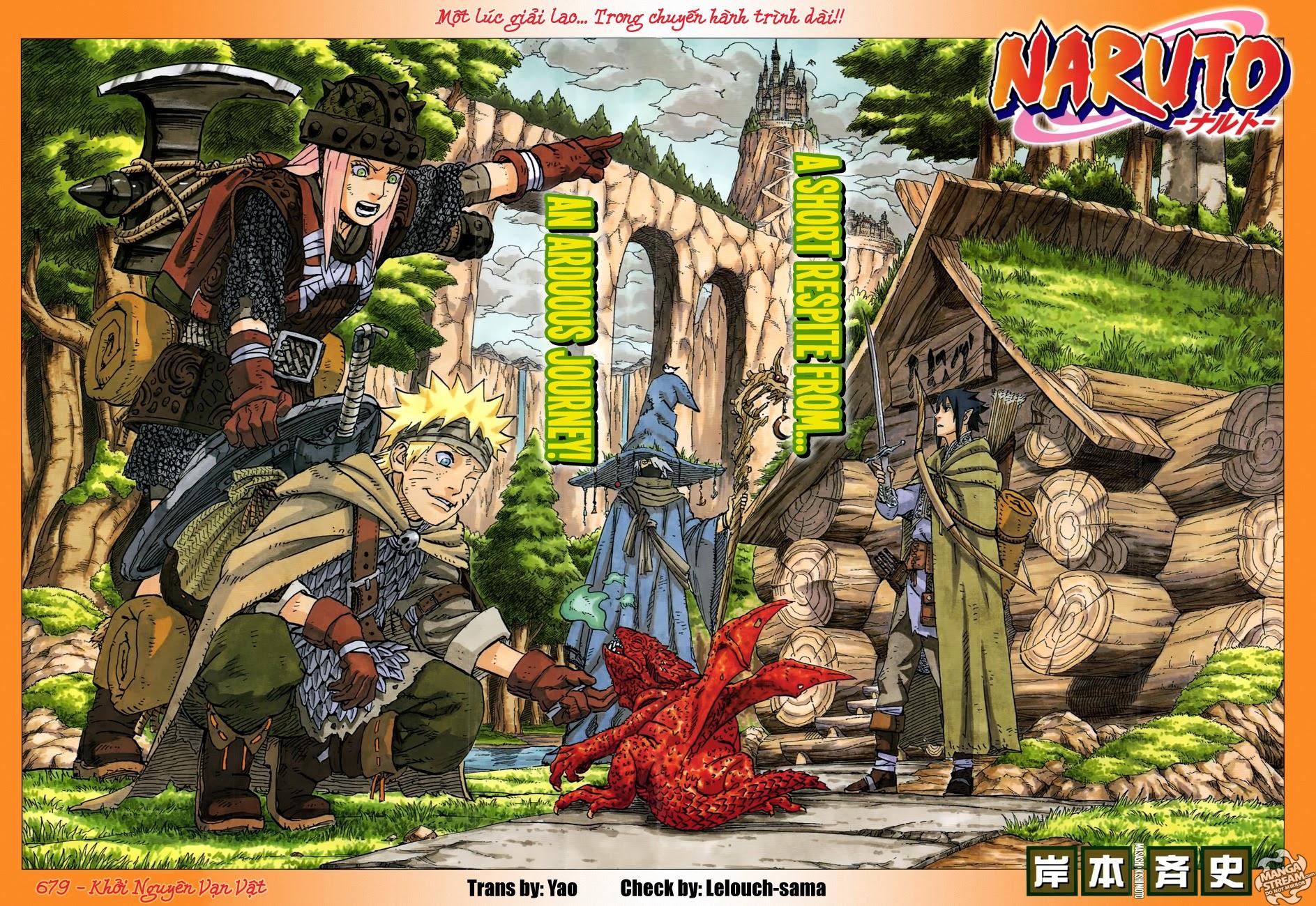 Naruto chap 679 Trang 1