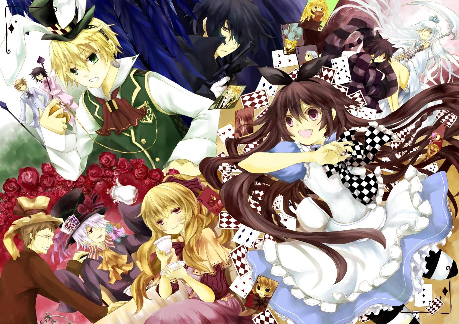 Pandora Hearts Alice E Oz Kiss