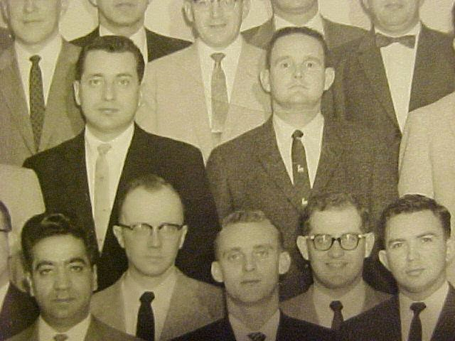 Clint Hill at Secret Service school 1959