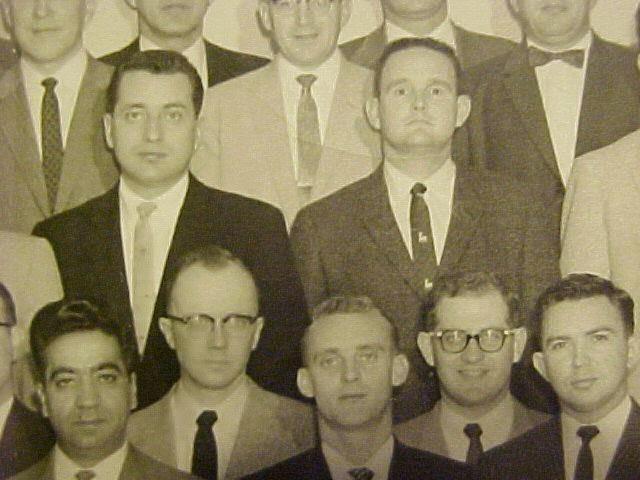 Clint Hill at Secret Service school 1959