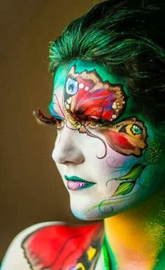 Face Painting Theme Save Girl Child