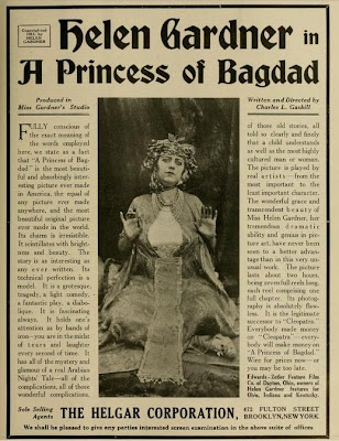 Helen Gardner in A Princess of Bagdad