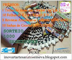 SORTEIO DE 1000 SEGUIDORES NO BLOG DA LIH