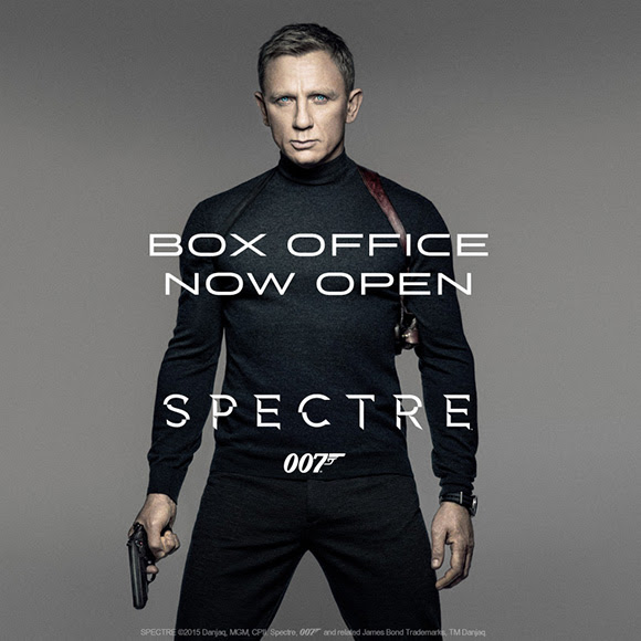 SPECTRE Vue box office bookings now open