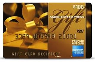 $100 Amex card