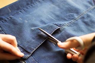 sewing denim trend