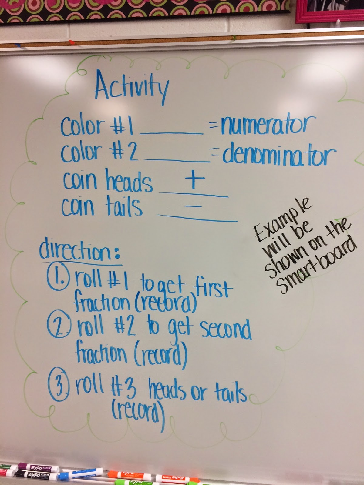 Mrs. White\'s 6th Grade Math Blog: ROLL-FLIP-SHAKE FRACTIONS (ADD ...
