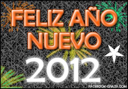 Gif de Feliz Año Nuevo 2012
