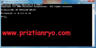 Cara Mengembalikan File Yang Terhidden Virus