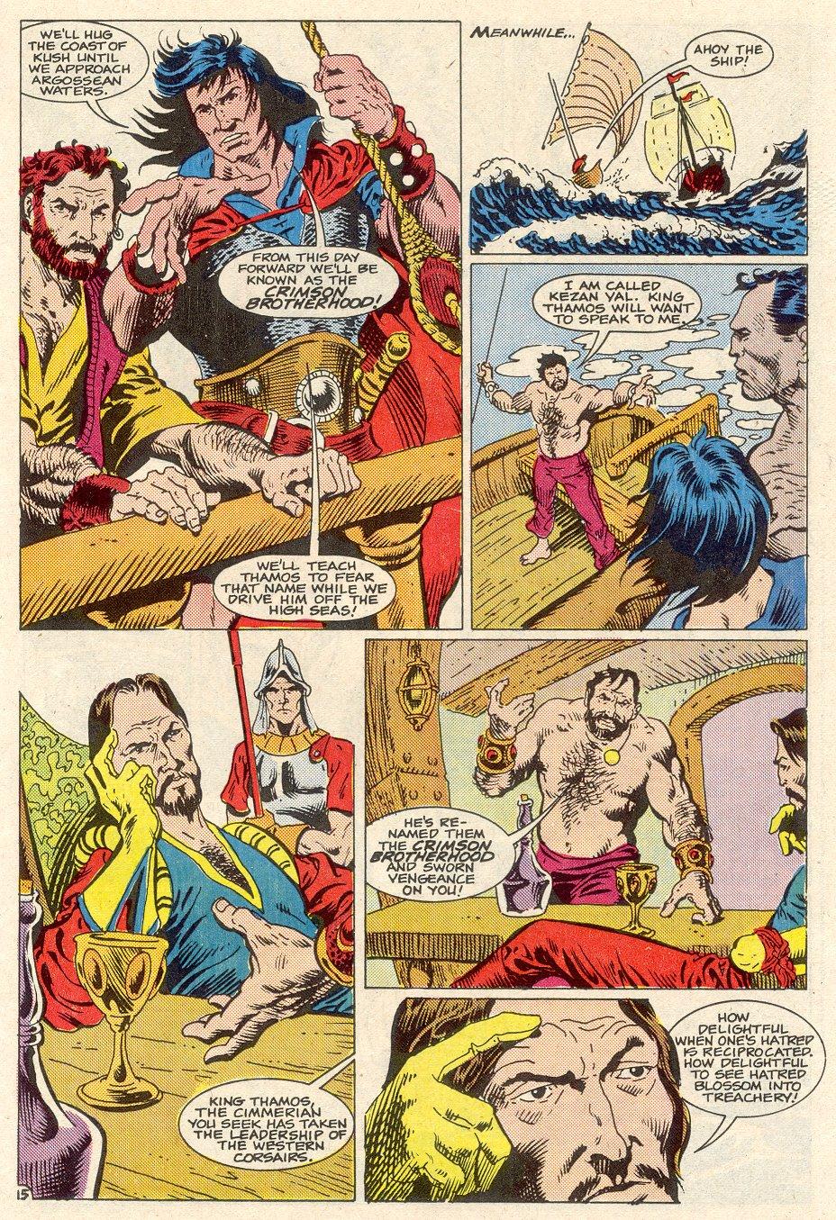 Conan the Barbarian (1970) Issue #186 #198 - English 16