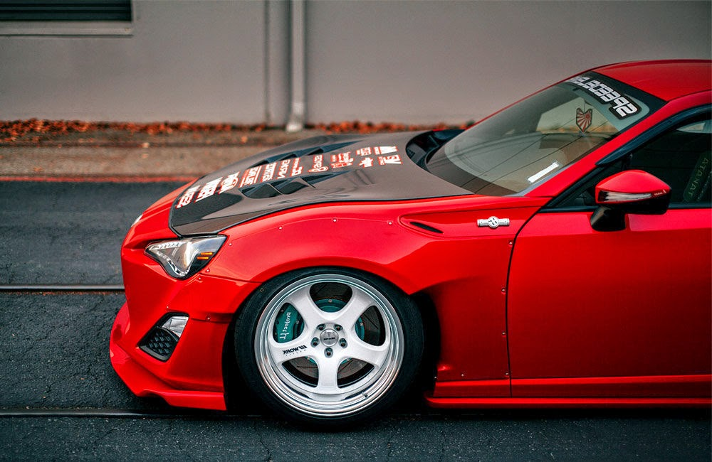 Scion FRS Modified Wallpaper Side
