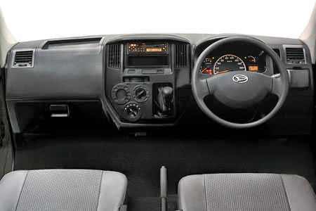 Interior Daihatsu Gran Max