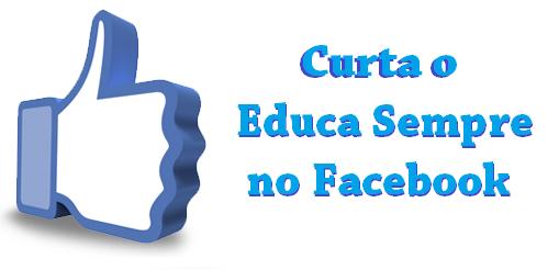 Página de educação Facebook
