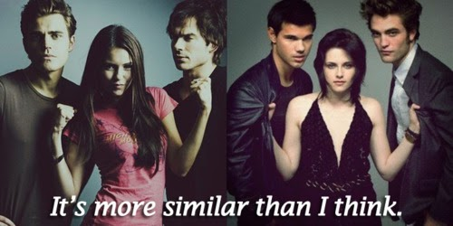 What makes The Vampire Diaries better than the Twilight ... Vampire Twilight 5