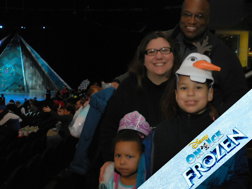 For The First Time in Forever, Disney on Ice's #Frozen is in Cleveland #disneyoniceinsider