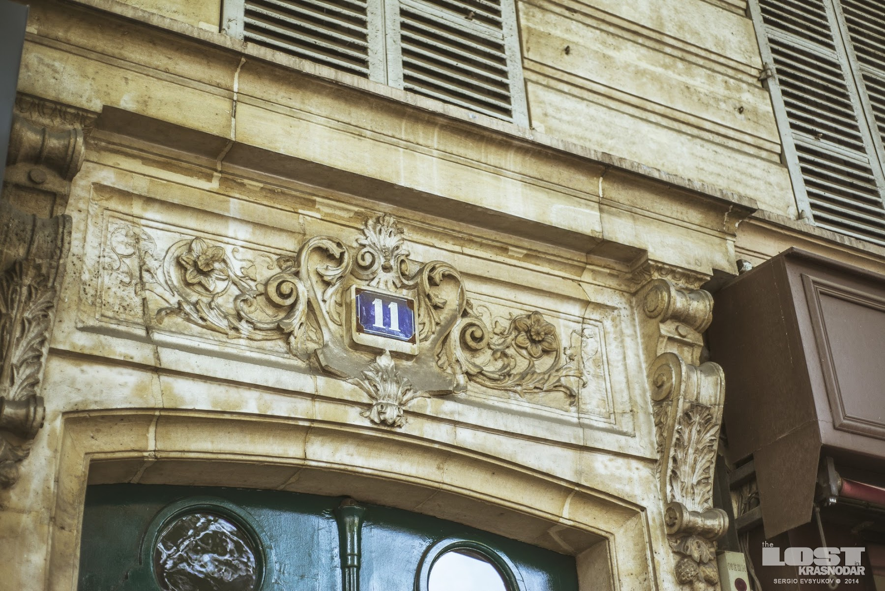 house number in Paris
