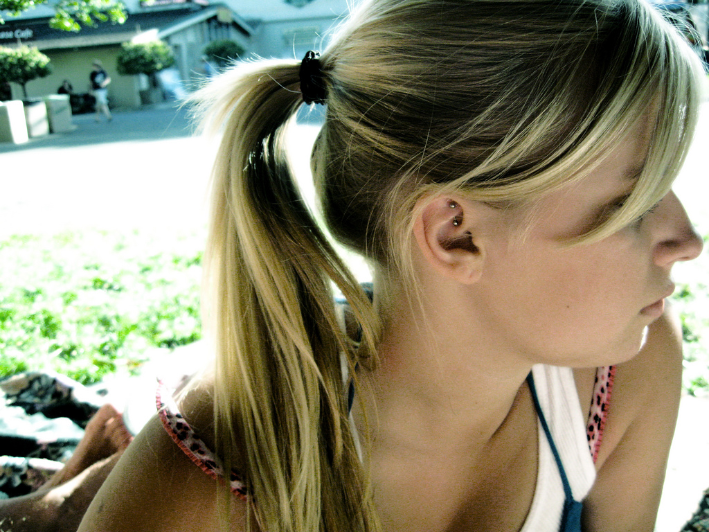 Teenage Girls Cool Hairstyle Pictures