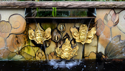 Lily, Lottie, Luna and the Buddettes (Sibley Fountain) Atlanta Botanical Garden
