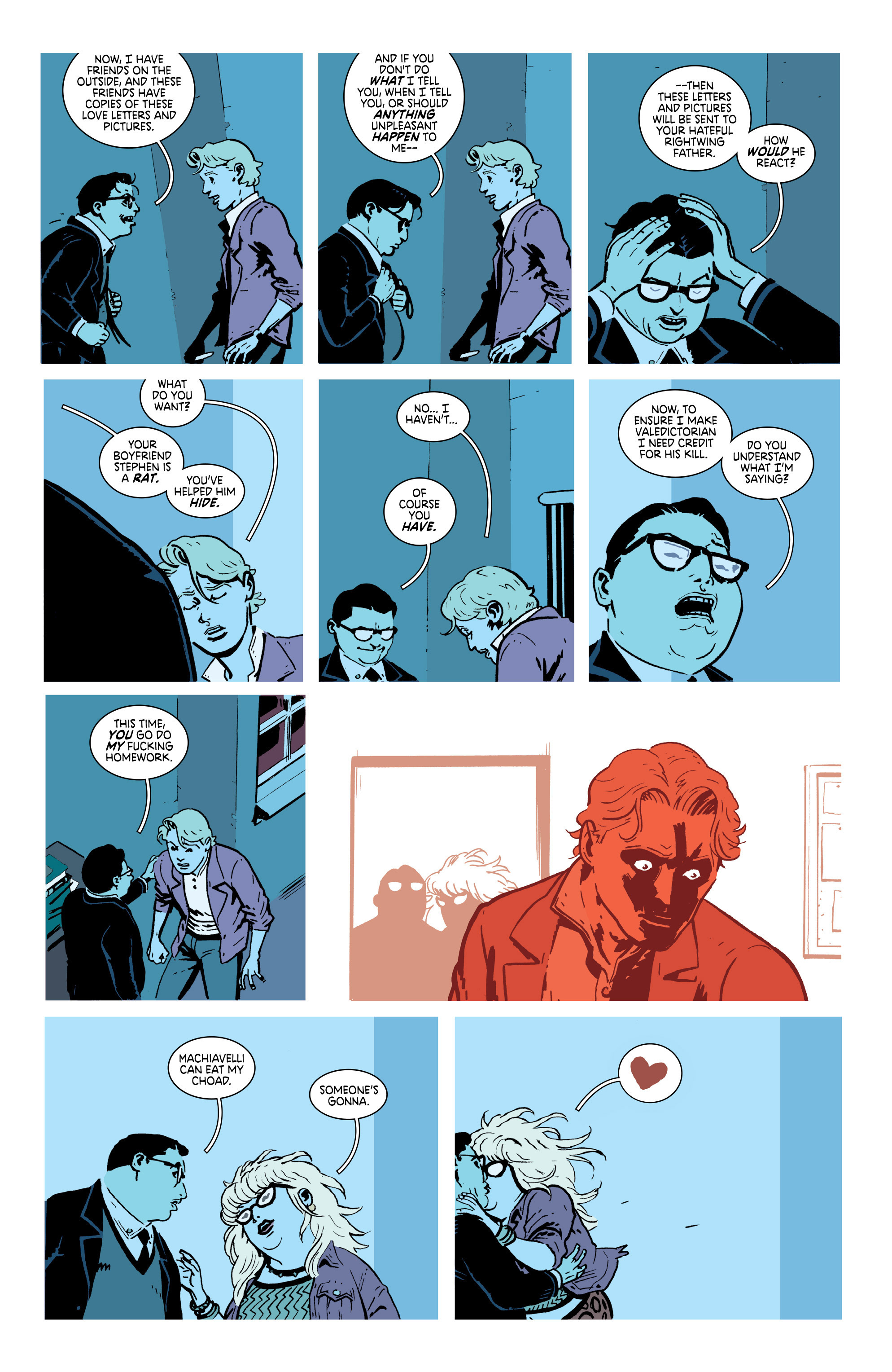 Read online Deadly Class comic -  Issue #18 - 9