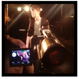Greyson Chance taping at MTV Singapore Gangnam Style