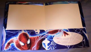 Centerfold of Amazing Spider-Man portfolios 2014 edition #3