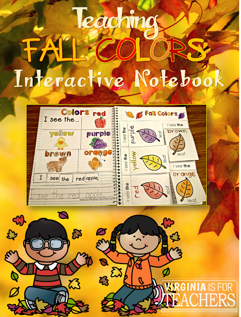 Teaching Fall Colors Interactive Notebook