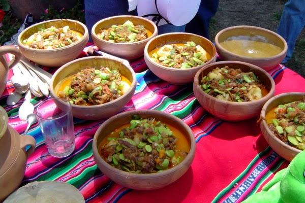Recetas de comida boliviana habas pejtu para 4 personas for Ingredientes para comida