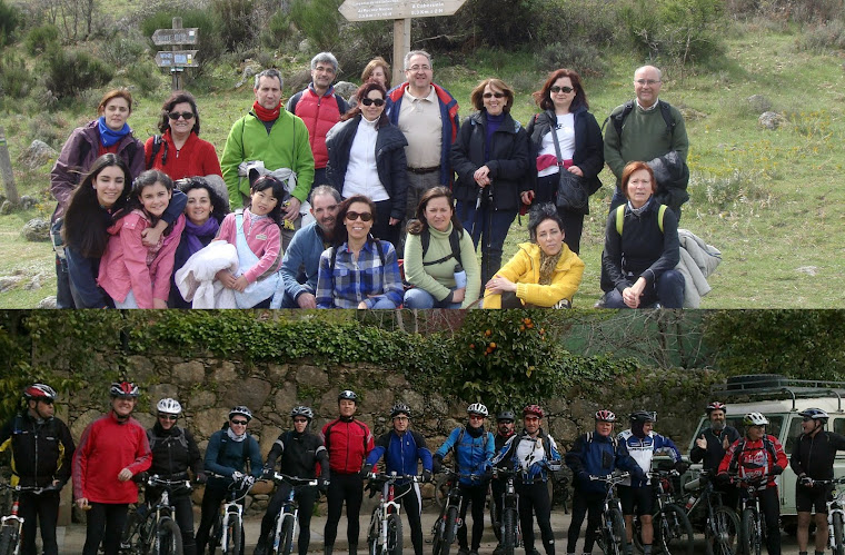 Marcha al valle del Jerte 07.04.2013