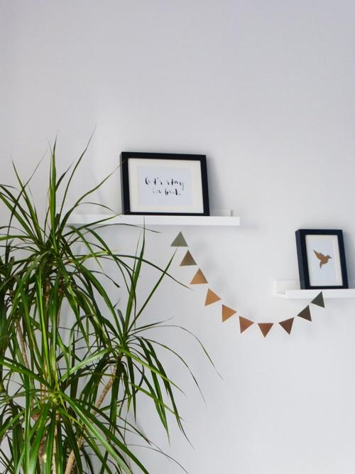 Dekoration Interiorstyling Kupfer black white DIY Upcycling