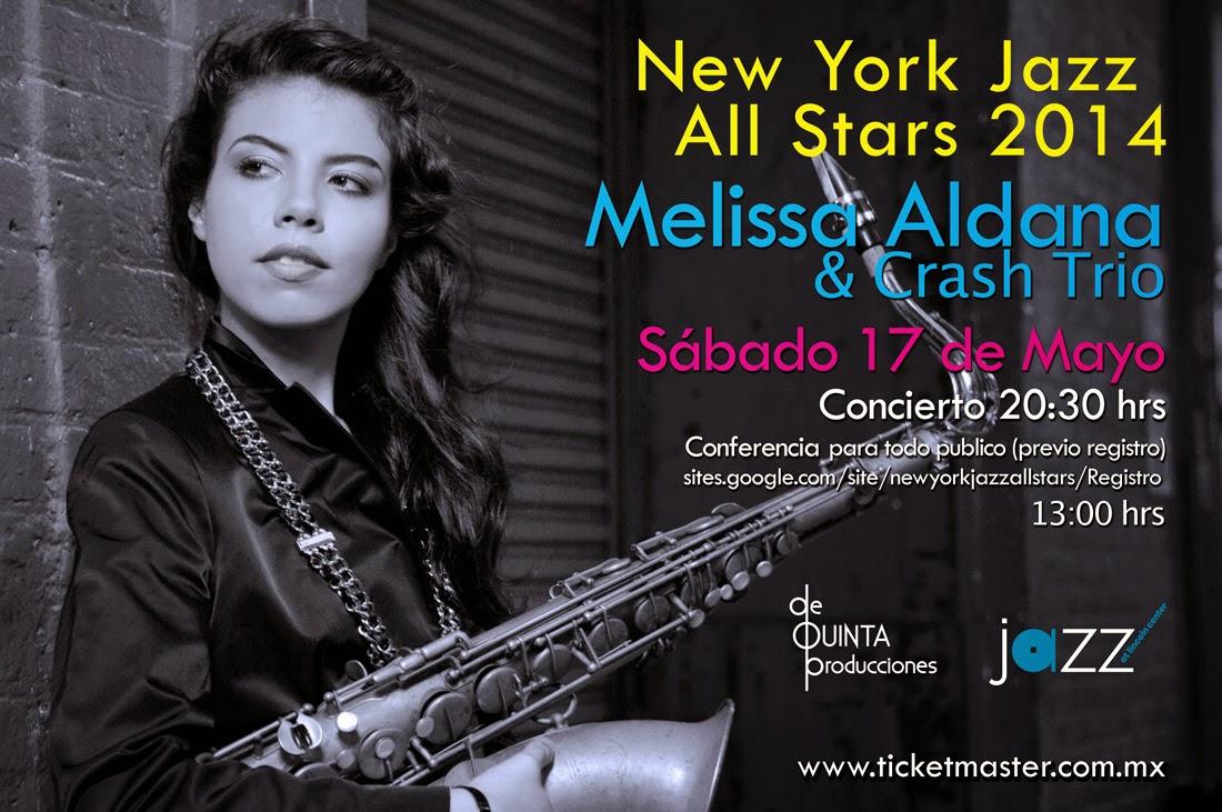 """El ciclo """"NY Jazz All Stars"""" presenta a Melissa Aldana & Crash Trío"""