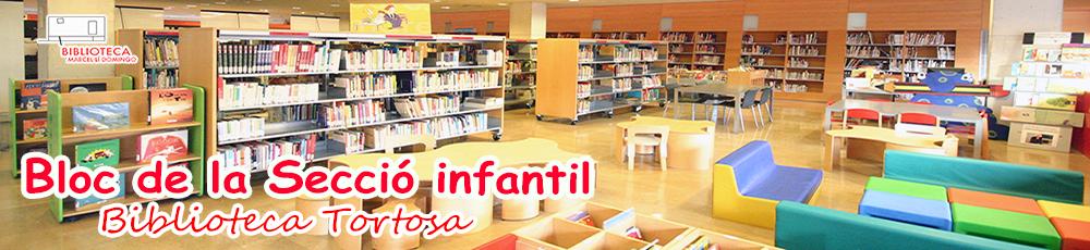 Biblioteca Tortosa Àrea Infantil