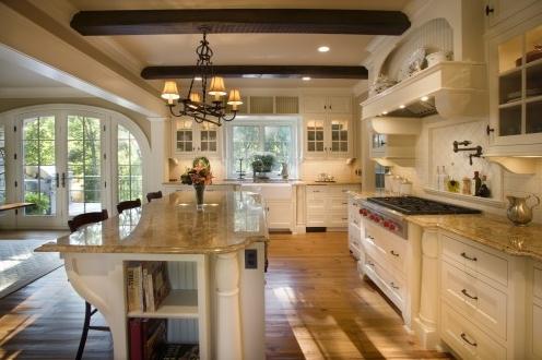 Um brasileiro na terra do tio sam casas americanas cozinha for Open country kitchen floor plans