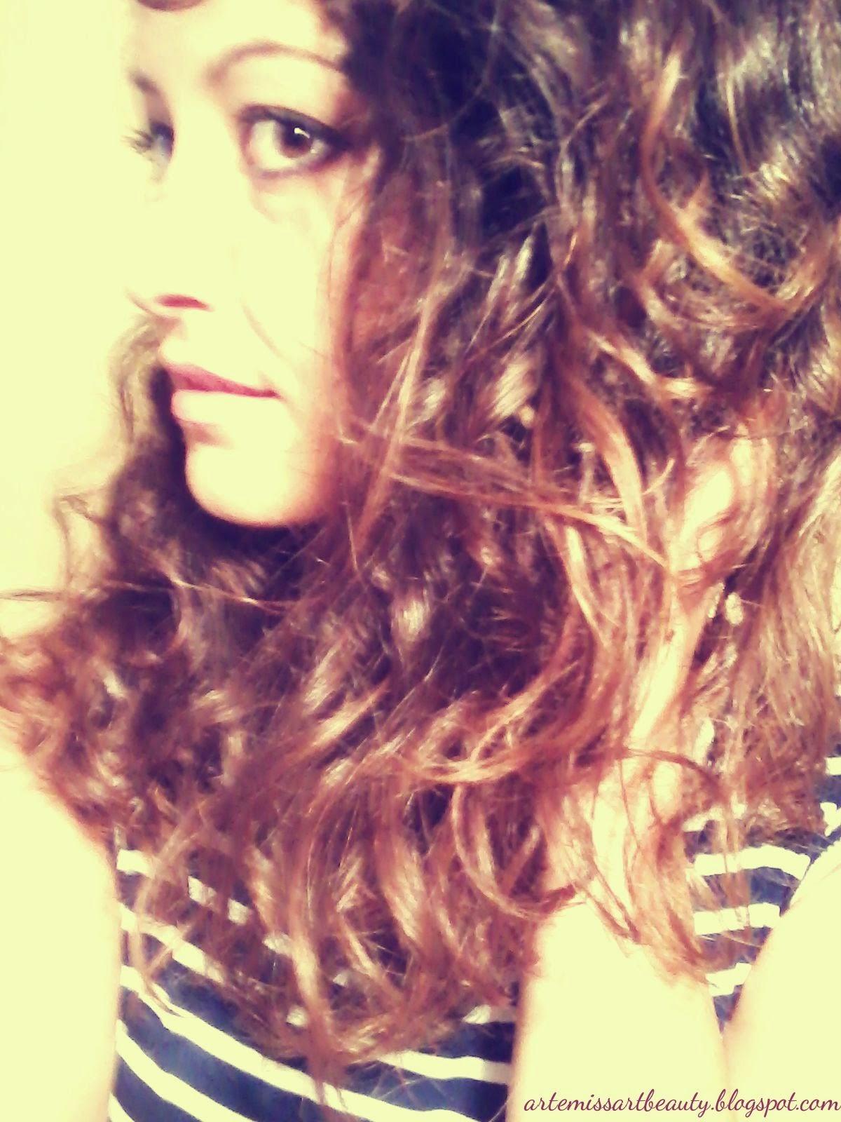 ricci curl styling