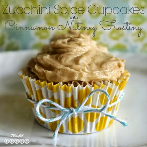 Zucchini Spice Cupcakes