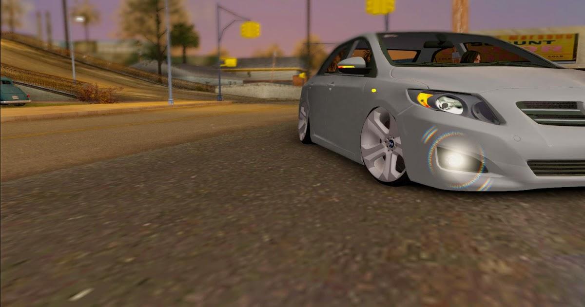 Toyota Corolla Som Na Fixa E Roda Da Bmw F3d Ekip Dubi Pc