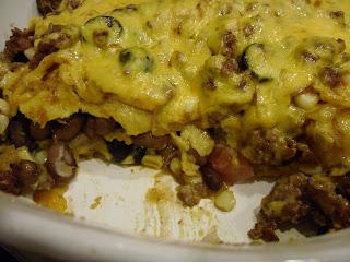 Layered Mexicali Casserole  l  www.lorisculinarycreations.com  l  #casserole #recipe