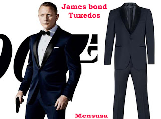 James Bond Tuxedos Mensusa
