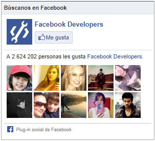 Ejemplo de Facebook Like Box