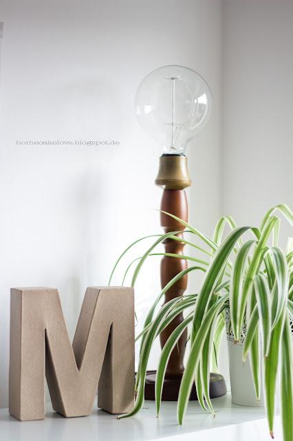 DIY Lampe umgestylt