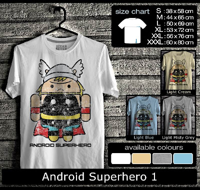 kaos distro android superhero 1