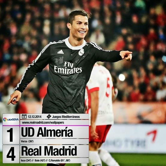 أهداف مباراة ريال مدريد وألميريا 4-1 حفيظ دراجي (12/12/2014) الدوري الأسباني 2014/2015 HD