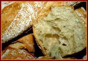 pan sin gluten recien horneado, pan fresco para celiacos
