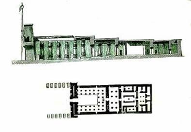 Historia del arte actividades sobre la arquitectura egipcia for Arquitectura de egipto