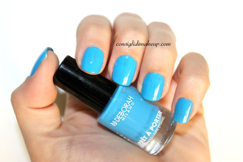 NOTD: Prèt à Porter 29 Blue Paradise - Deborah Milano