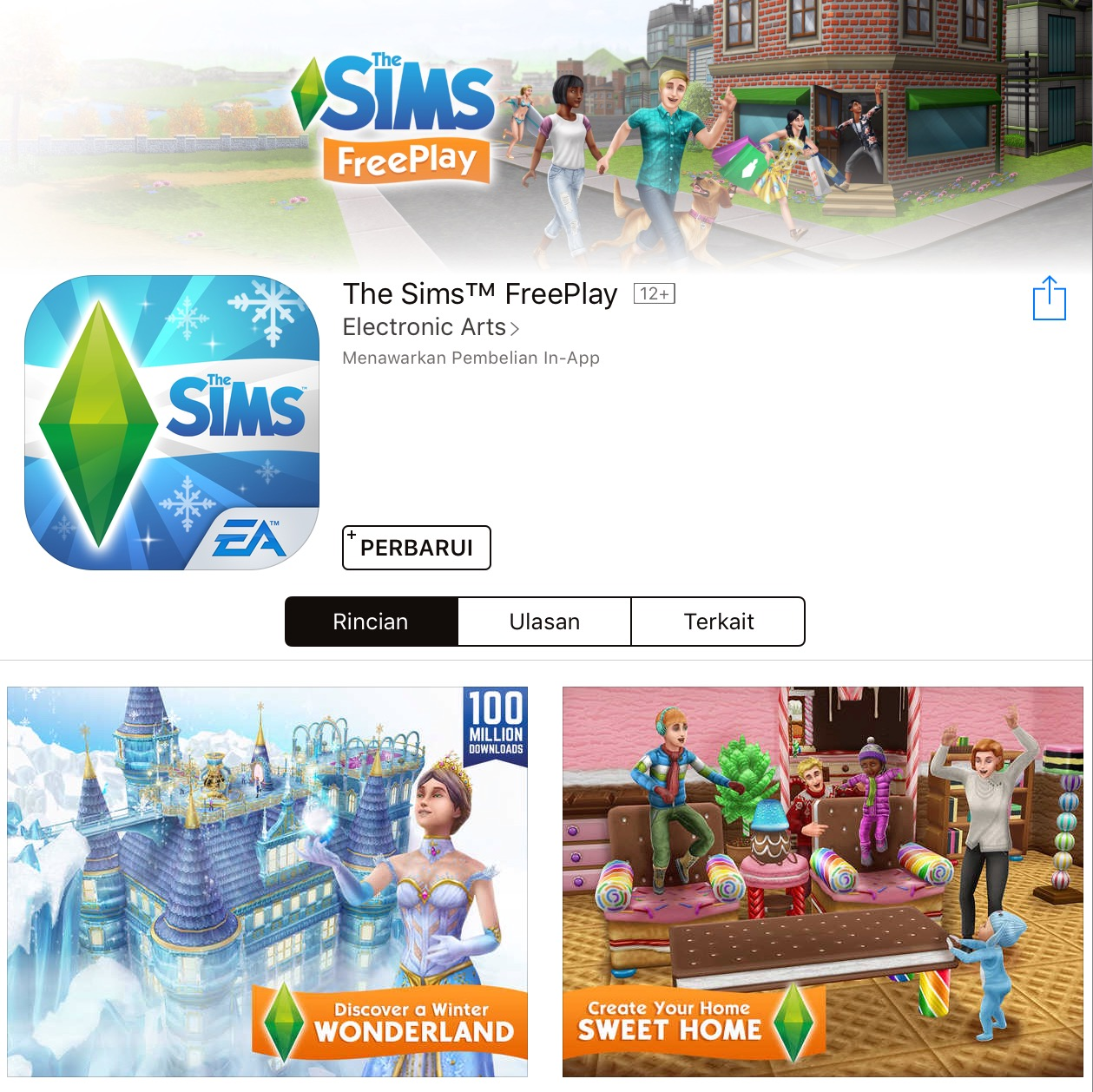 Plumbob News: The Sims FreePlay Christmas 2015 Update Available Now