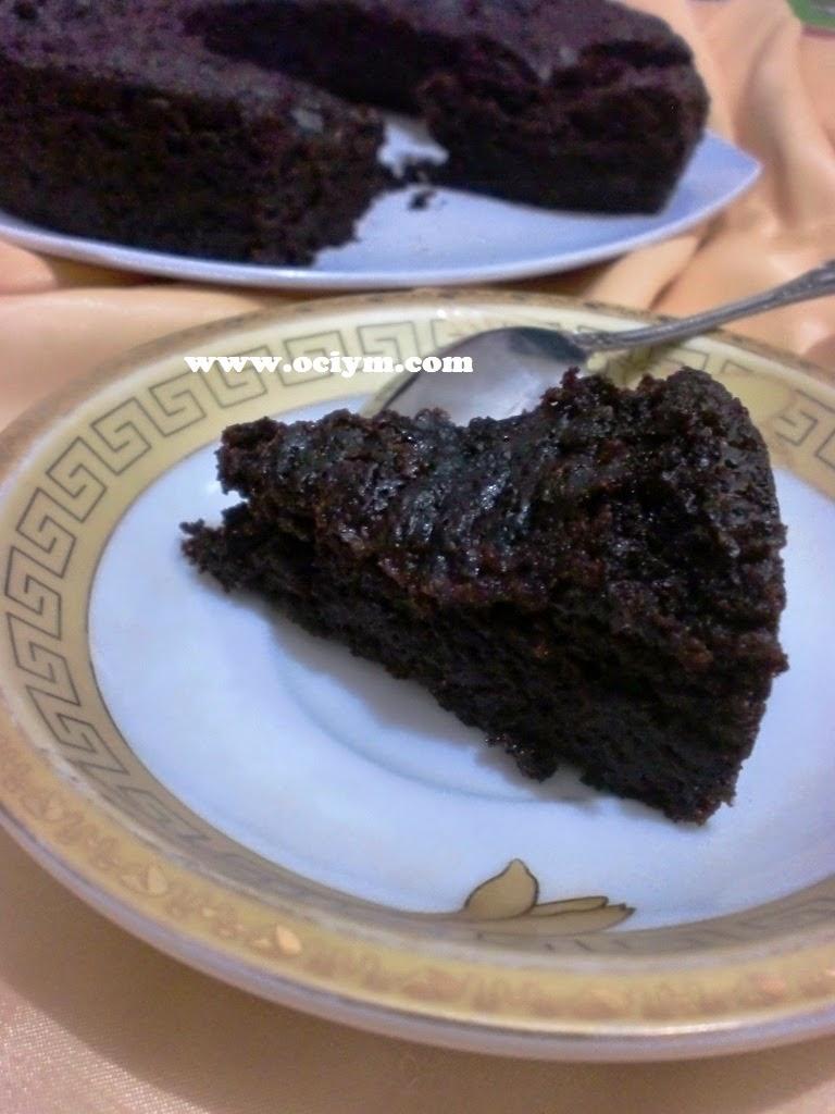 Eggless Chocolate Cake Tanpa Mixer dan Oven